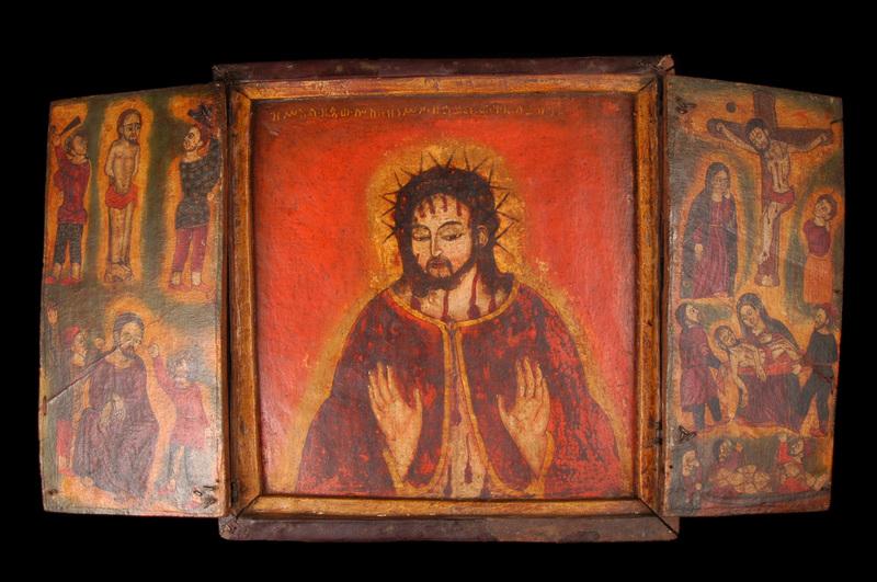 Triptyque - Christ aux épines