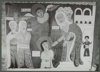 Peinture par Griaule et Lutten pour Gondar