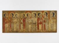Peinture de l'église d'Abba Antonios - Neuf saints d'Ethiopie